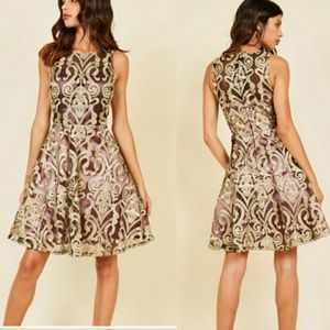 Modcloth [Liza Luxe] Lace Dress New With Tags